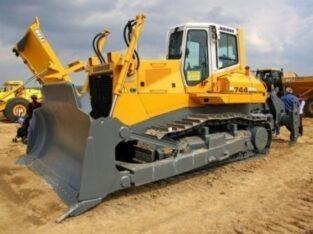 Liebherr PR 744 Litronic bulldozer for sale