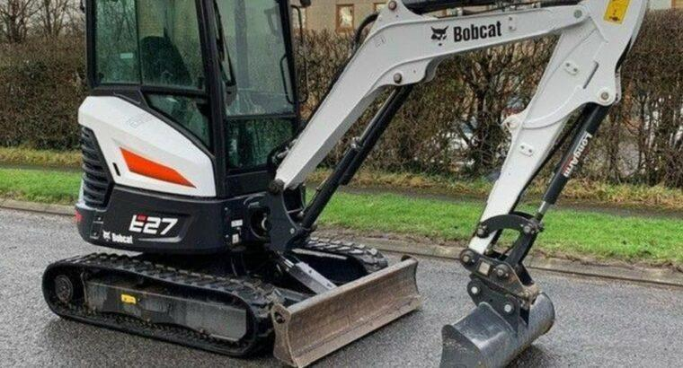 Bobcat Bobcat E27 mini excavator