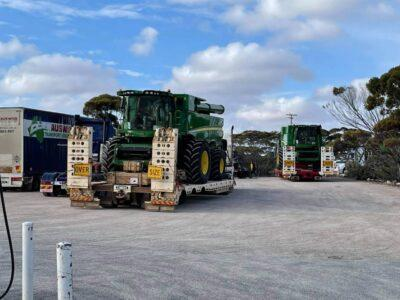 Diverted farm machinery returns to the farmers of Western Australia